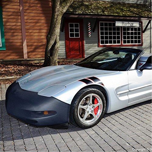 - C5 Corvette NoviStretch Front Bra High Tech Stretch Mask Fits: All C5 1997 through 2004 Corvettes