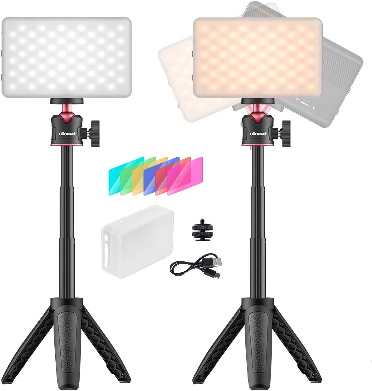 Videokonferenz Beleuchtungskit 2 Stellen Sie Die Kamera