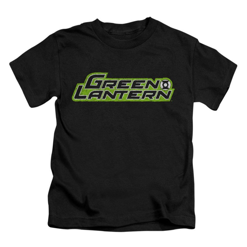 Green Lantern DC Comics Scribble Title Little Boys T-Shirt Tee