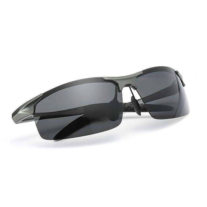Gafas de sol polarizadas para hombre de los deportes de la moda para la conducción/