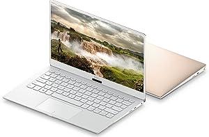 2018 Dell XPS 9370 Laptop, 13.3in FHD InfinityEdge Display, 8th Gen Intel Core i7-8550U, 8GB RAM, 256 GB SSD, Fingerprint Reader, Windows 10, Rose Gold (Renewed)