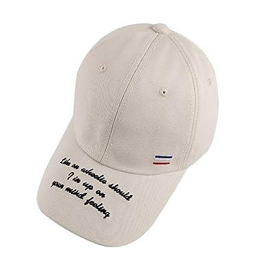 423b9ef0 WAYATI Womens Dad Hat Trucker Hat Summer Letter Baseball Cap Soft ...