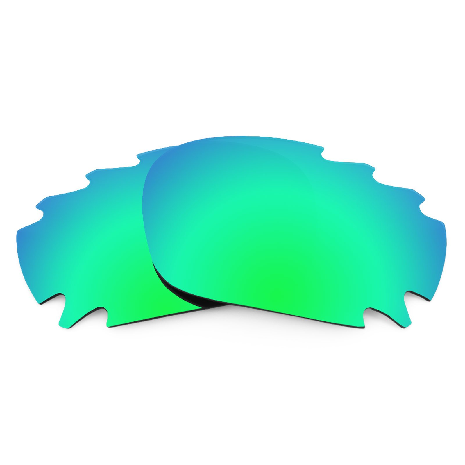 Revant Polarized Replacement Lenses for Oakley Jawbone Vented Emerald Green MirrorShield by Revant