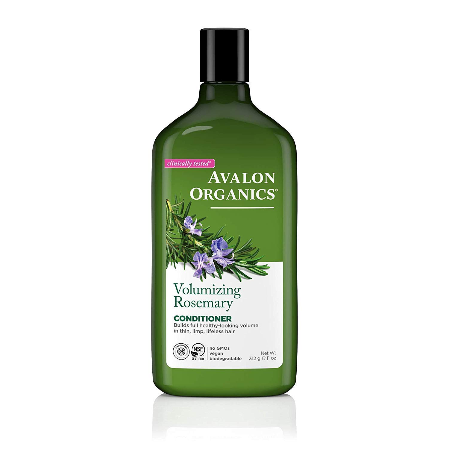 Avalon Organics Conditioner, Volumizing Rosemary, 11 Oz