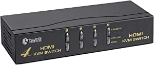 HDMI KVM Switch (4 Port)