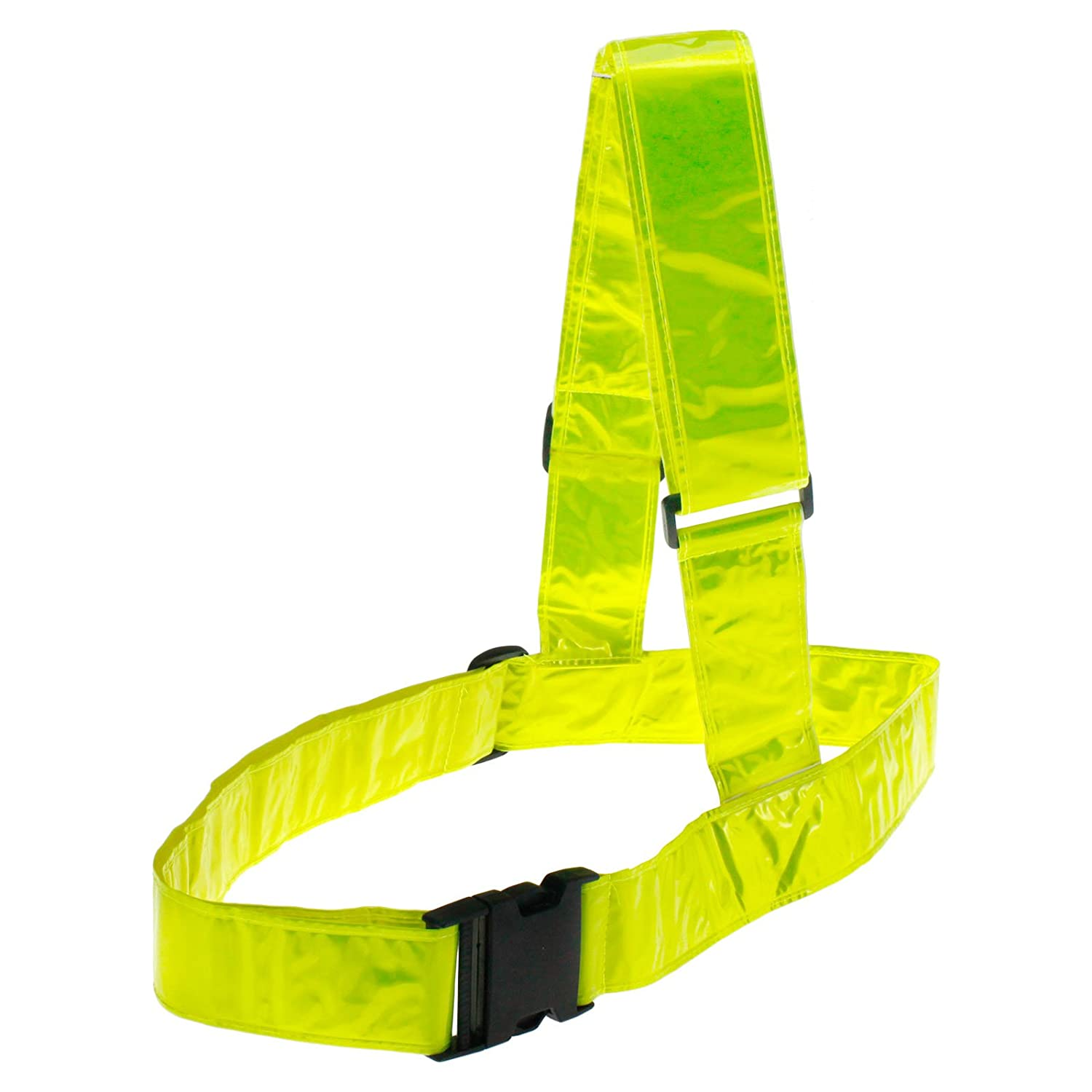 D2D Motorcycle/Bike/Motorbike Adjustable Reflective Brace Belt High Visibility