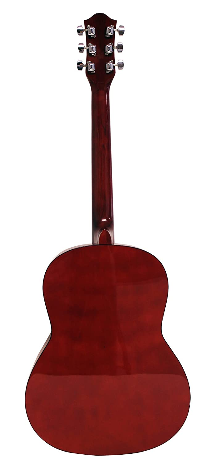 Black Natural Martin Smith W-101-BK-PK Acoustic Guitar Super Kit with Stand