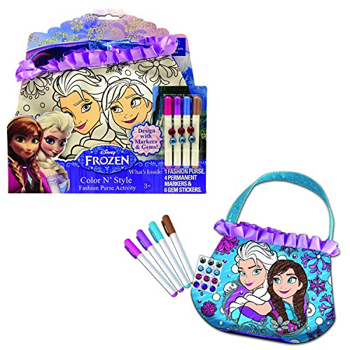 Tara Toy Frozen Color N' Style Purse (Disney Discount Code)