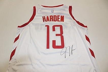 buy popular d3ee2 41cae James Harden Autographed Signed Houston Rockets Nike Dri-Fit ...