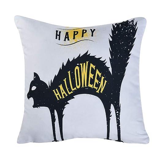 MAYOGO Fundas Cojines Decorativos 45x45 Estampado Halloween ...