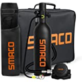 SMACO Scuba Tank Diving Gear for Diver Mini Scuba Tank Oxygen Cylinder with 15-20 Minutes Capability Diving Oxygen…