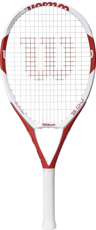 Wilson(ウイルソン) 硬式 テニスラケット  TRIAD 3.0J 118 [フレームのみ] WRT736010 WRT742220 グリップサイズG2 ホワイト×レッド B01N3LK5Y9