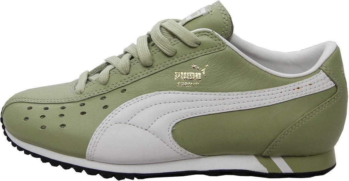 Puma Schuhe Sprint Sage Grün Weiß   schwarz - Turnschuhe Turnschuhe Schuhe - Laufschuhe