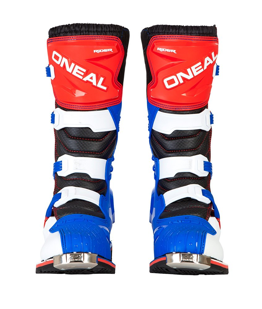 O'Neal Rider Boots (12) (Blue/Red/White,12)