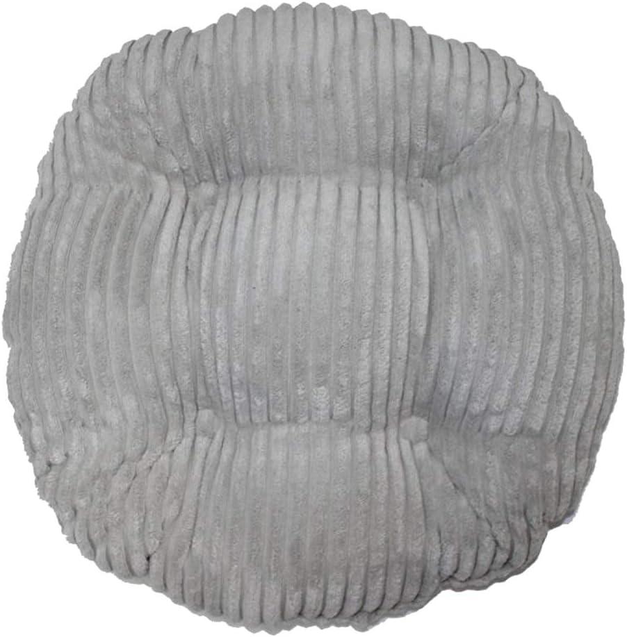 B Blesiya Coussin de Sol Chaise Style Rond Oreiller Tapis De Sol pour Mariage Restaurant 30x30cm