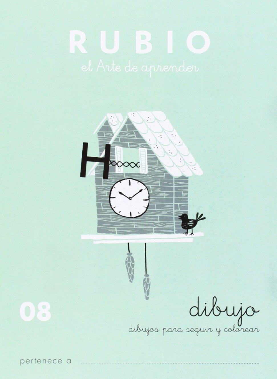 Rubio 08 - Caligrafía Escolar Rubio Tapa blanda – 1 ene 1996 Vv.Aa. 848510921X YQ Spanish