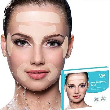 Tiras Para Eliminar Arrugas Faciales Juego De 256 Parches Faciales Reutilizables Para La Cara Que Suaviza Los Parches De Arrugas Para Reducir La Frente Los Ojos Y Alrededor De La Boca