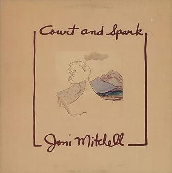Joni Mitchell - Court And Spark (Original 1974 QUAD LP Vinyl Album ...