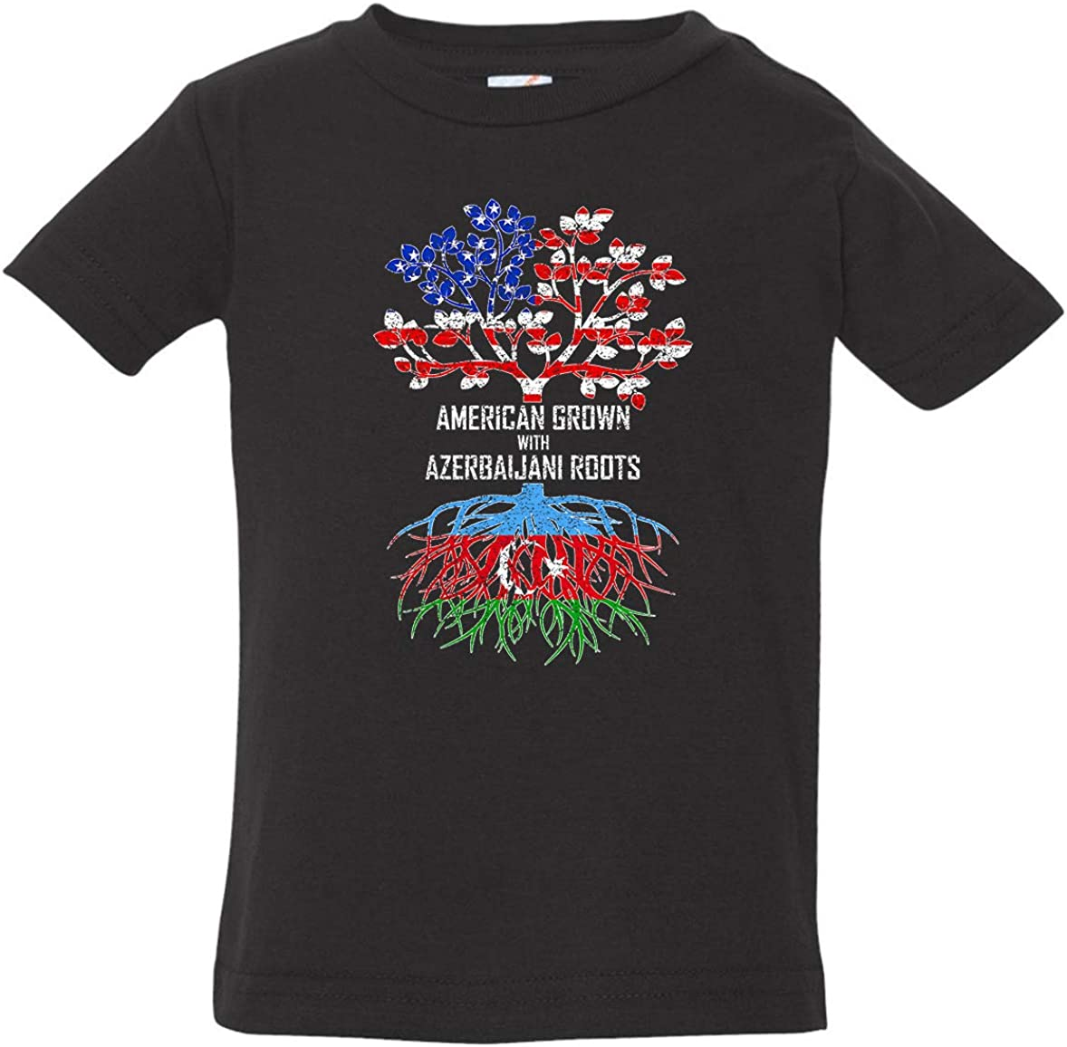 Tenacitee Babys American Grown with Azerbaijani Roots Shirt