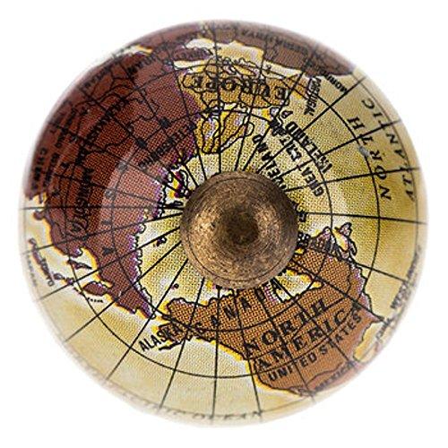 World/Globe Cabinet/Drawer Knob ~ set of 2