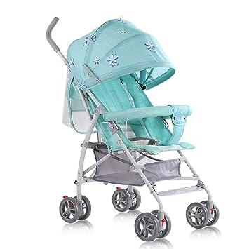 Baobcher Cochecitos para niños pequeños Ligero Sentado y acostado Cochecito de bebé cómodo y Respirable 0-3 años (Color : B): Amazon.es: Hogar