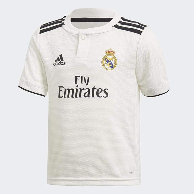 adidas 2018-2019 Real Madrid Home Mini Kit