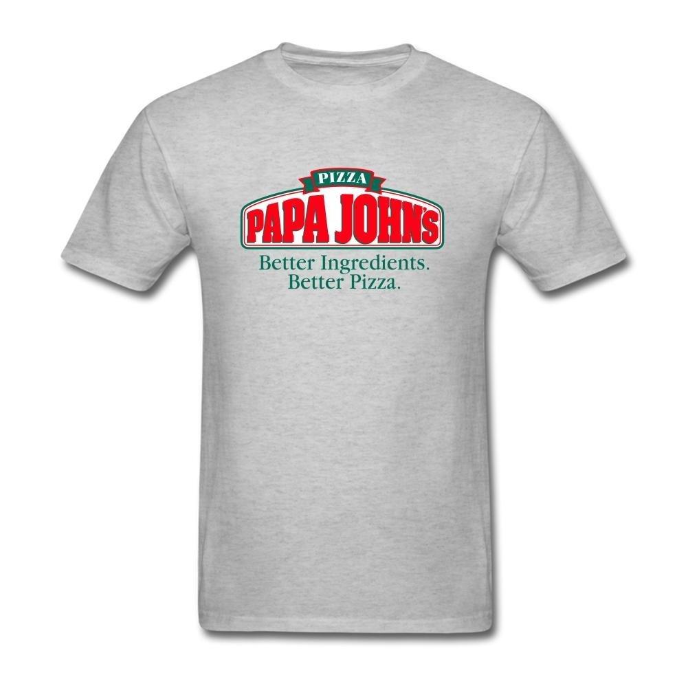 Laugh Dusk Men\'s PaPa Johns Logo T-Shirt S ColorName Short Sleeve ...