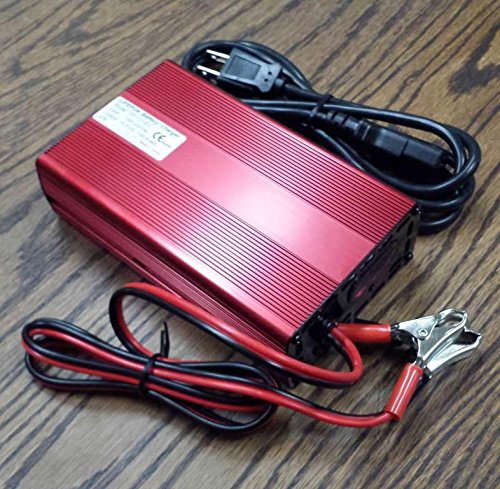 Electric Stock Company (12V-12.8V-14.6V Volt 10A Amp Lithium LFP LiFePO4 Battery Charger USA STOCK! NEW!)