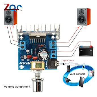 Amazon.com: TDA7297 Version B 2X15W Amplificatore Stereo Digital Audio Amplifier Amplificador Module Board Dual-Channel Ampli Electro 9-15V: Industrial & ...