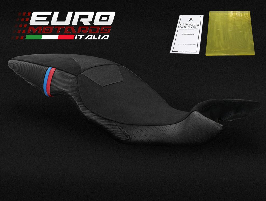 BMW F800GT 2013-2016 Luimoto Motorsports Low Tec-Grip Suede Seat Cover New + Gel Pad