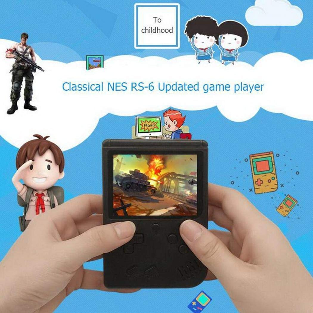 LEANO Portable Built-in 168 Games Mini Handheld Game Console Handheld Games by LEANO (Image #5)