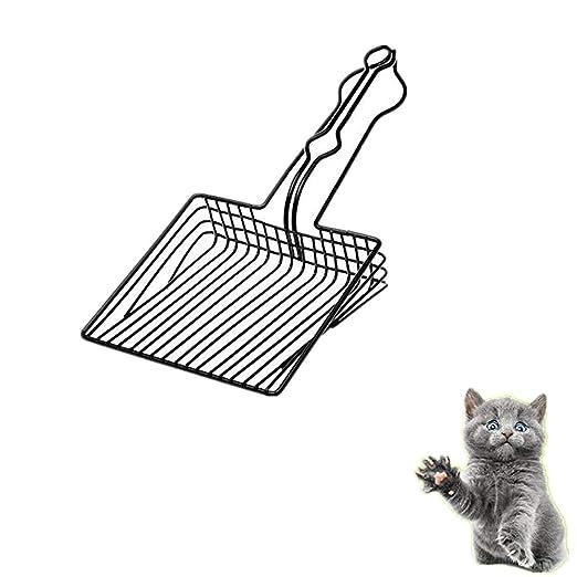 Cuchara de metal para gatos - Pala de acero inoxidable Litter Free ...