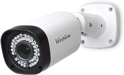 1//2.7 Sensor 2.8-12mm Varifocal Lens 42 LEDs IR Cut 130ft Night Vision Outdoor Indoor Surveillance Cameras Westshine 1080P 4-in-1 Security Bullet Security Camera
