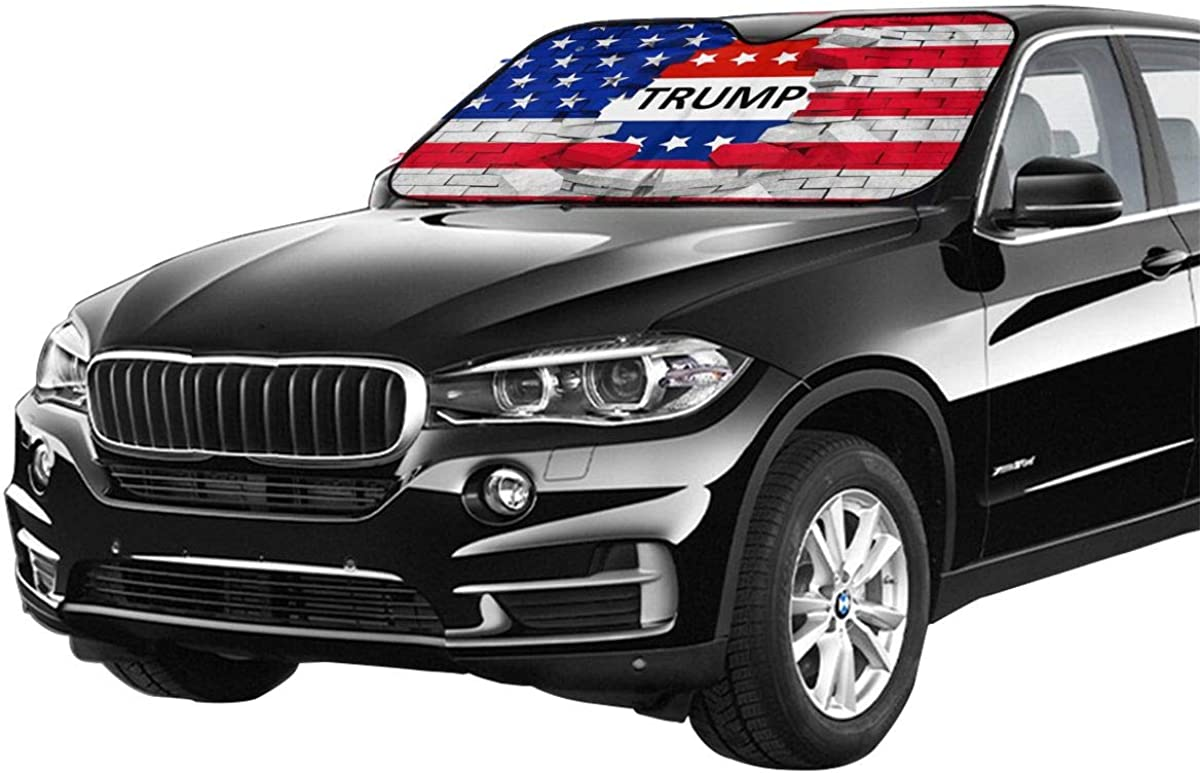 ULQUIEOR Front Windshield Sun Shade Dead The Nightmare Before Christmas Foldable Universal for Car Truck SUV Blocks Uv Rays Sun Visor Protector-Keep Your Vehicle Cool 51 X 27 Inch The Starry Night