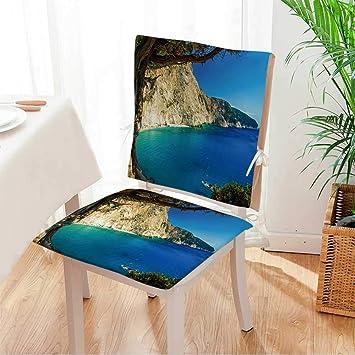 Amazon.com: Miki - Juego de cojines decorativos para silla ...