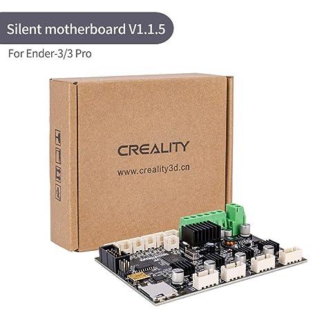 Placa base V1.1.5 para impresora 3D, placa base de 24 V ultra ...