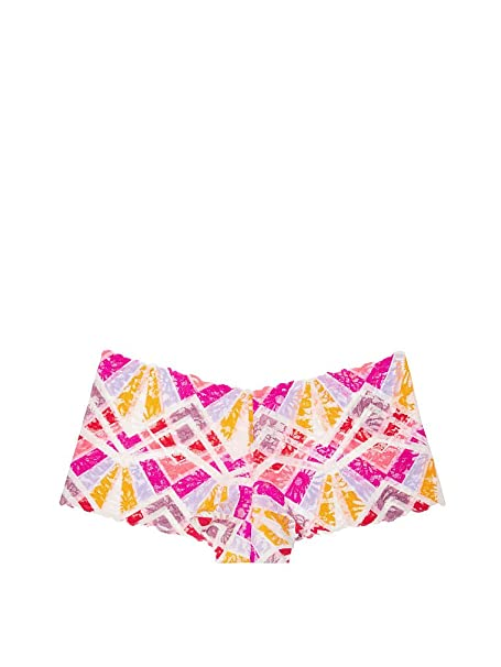 6a819771a4910 Victoria 's Secret PINK Wildflower Lace Boy Short Panty Large Multi ...