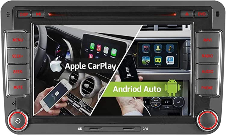 7 2 Tuner Android 10 0 Dvd Gps 2 32gb Android Auto Carplay Bt 5 0
