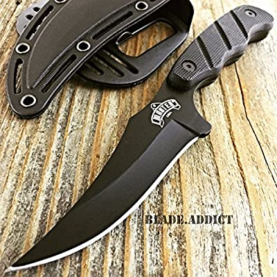 "9"" TACTICAL SURVIVAL KNIFE Hunting Skinner MILITARY Fixed Blade Boot Bowie EDC"