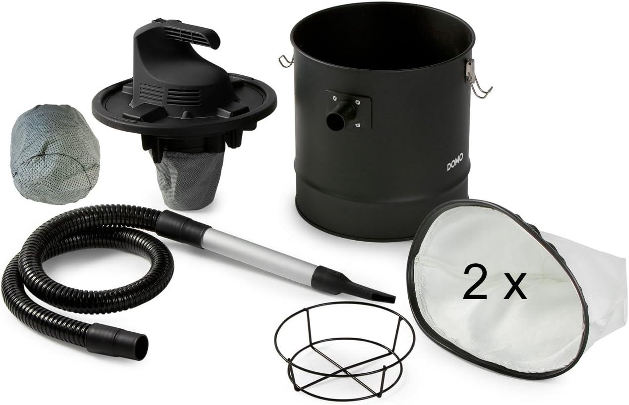 Aspirador de cenizas / chimenea para aspirar cenizas + 2 filtros de motor + 2 bolsas para el polvo.: Amazon.es: Hogar