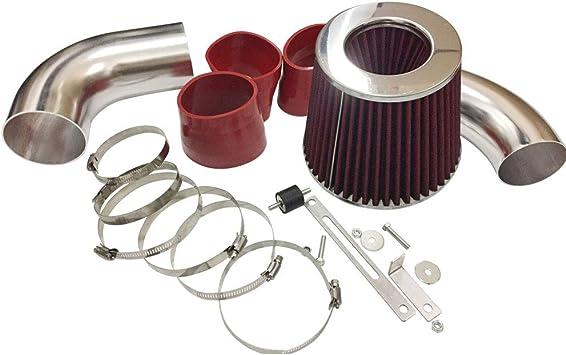 Filter For 96-05 S-10//Blazer//Sonoma//Jimmy 4.3L V6 RED Cold Air Intake Kit