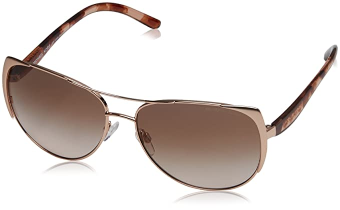 MICHAEL KORS Michael Kors Damen Sonnenbrille »SADIE I MK1005«, rosa, 115513 - rosa/ orange