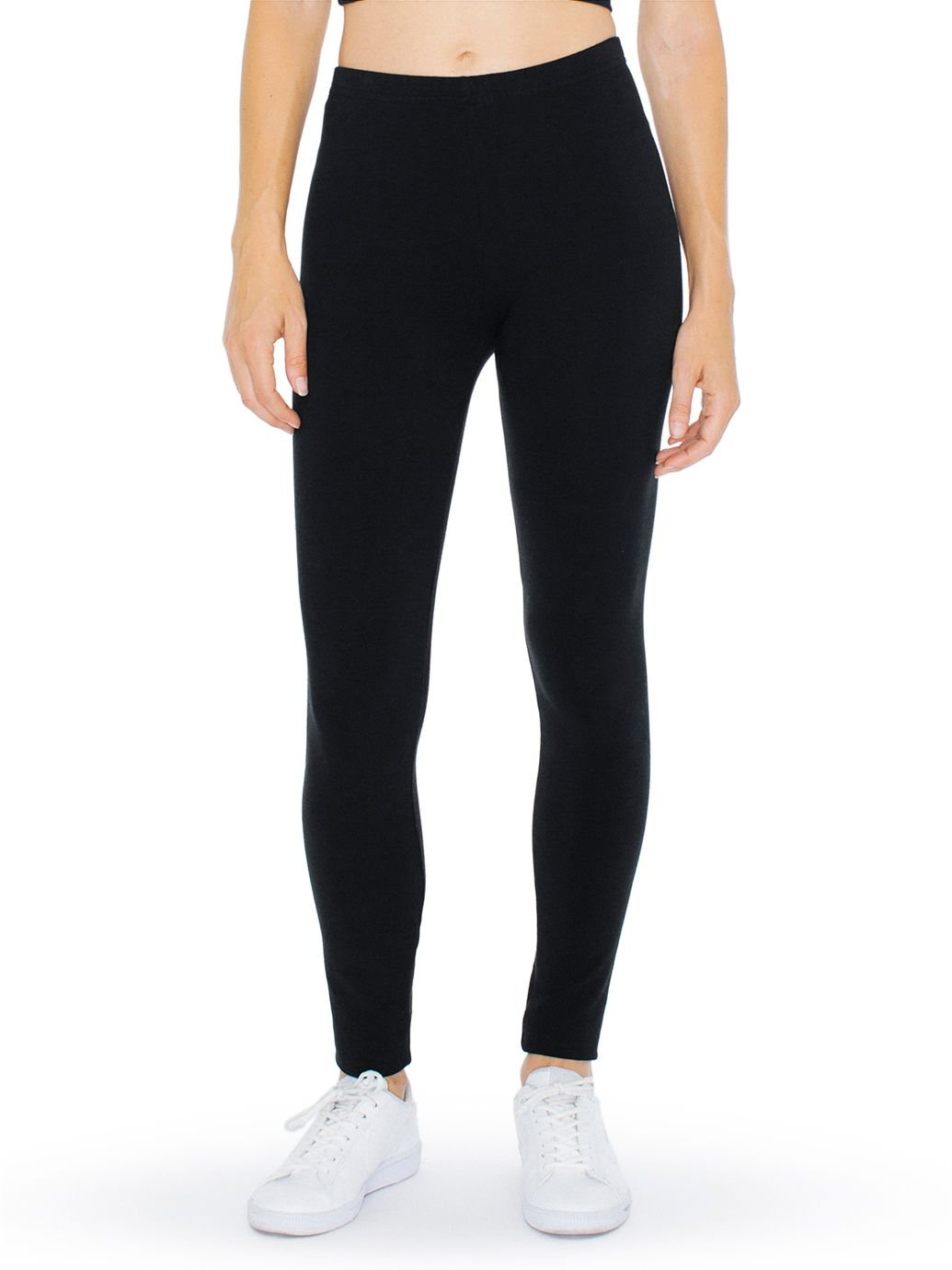 American Apparel Women's Winter Leggings, Black - X-Large