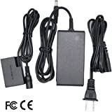 ACK-E18 AC Power Adapter Charger DR-E18 DC Coupler Kit (Replace LP-E17 Battery) for Canon Rebel T6i, T6s, SL2, T7i, EOS 750D, 760D, 800D, 77D, EOS Kiss X8i, EOS 8000D Cameras (Fully Decoded).