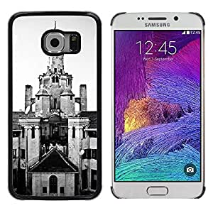 Hot Style Cell Phone PC Hard Case Cover // M00170127 Structure Venue Layout Architecture // Samsung Galaxy S6 EDGE (Not Fits S6)