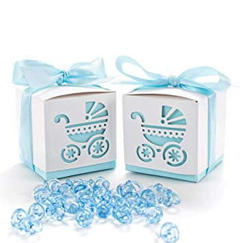 Amazon.com: 50 bonitos lazos de papel para regalo de ...
