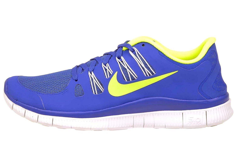 nike free outlet, Herren Nike Free 5.0+ Hyper Blau Volt