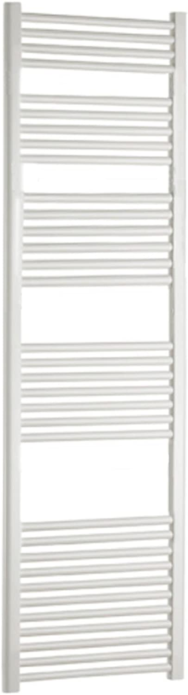 'Radiador Toallero Blanco cm 180x 55Piano 39tubos 938W Acero horizontales termotech
