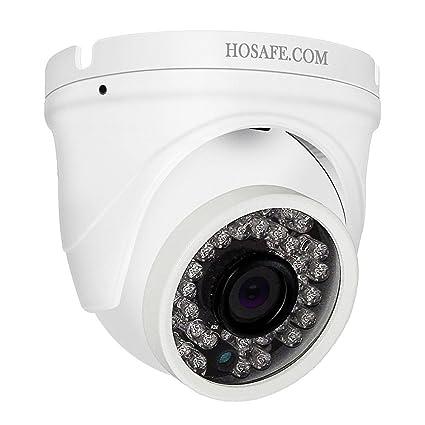 Cámara IP HOSAFE Dome con Audio Outdoor 1080P, Cámara de Vigilancia de Seguridad para el