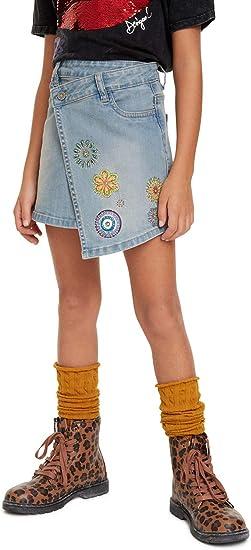 Desigual Skirt Denver Falda para Niñas: Amazon.es: Ropa y accesorios